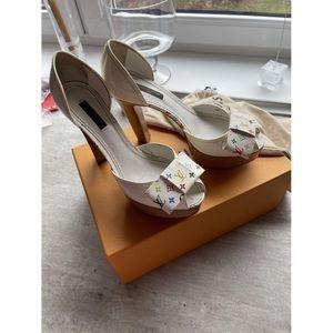 🌈RARE🌈 Y2K Multicolore Louis Vuitton 🎀 Heels
